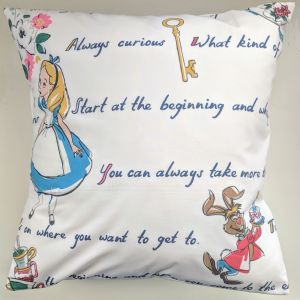 Cushion Cover in Cath Kidston Alice in Wonderland 16""